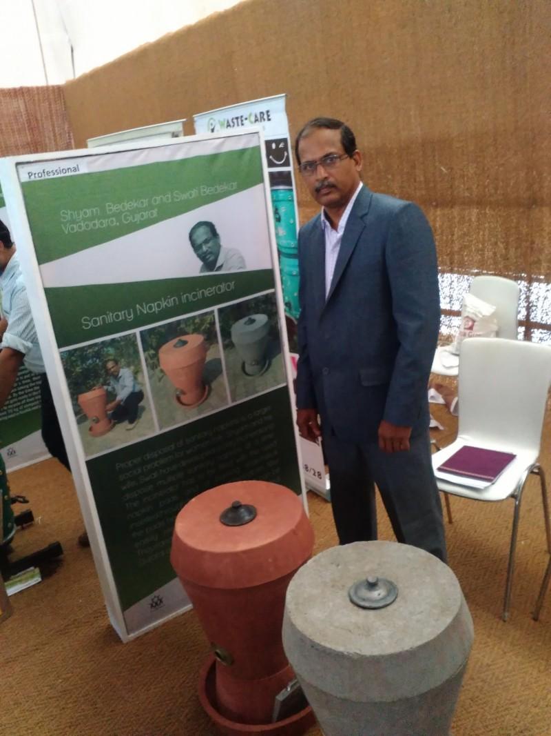 shyamsuder bedekar sanitary napkin incinerator