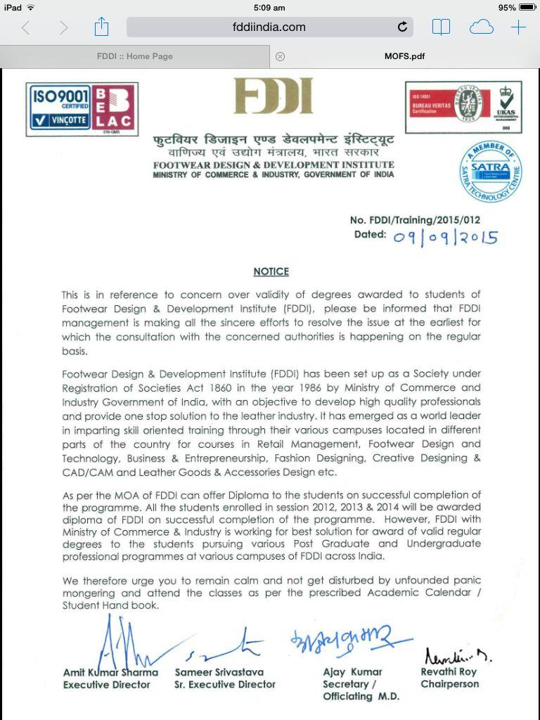FDDI protest