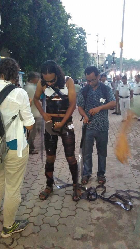 tamoghana haldar ftii protest 2