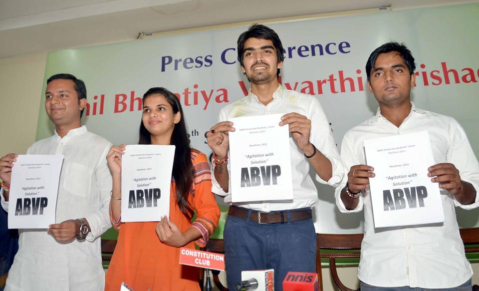 ABVP students