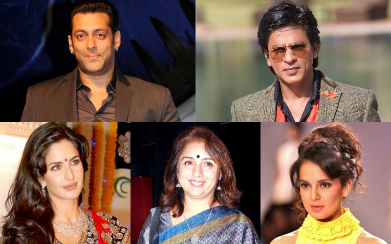 bollywood actors collage