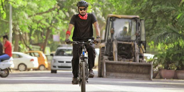 jamia student cross india cycling for sexual abuse of children in juvenile homes