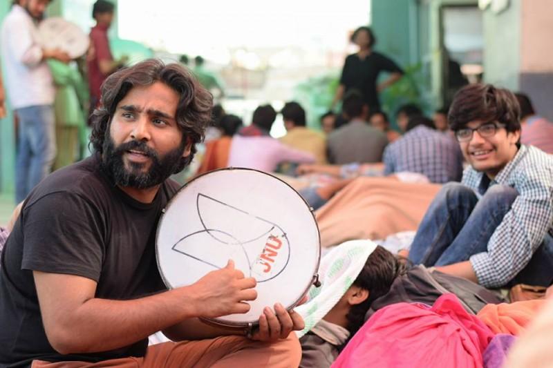 Non-NET protests, JNU