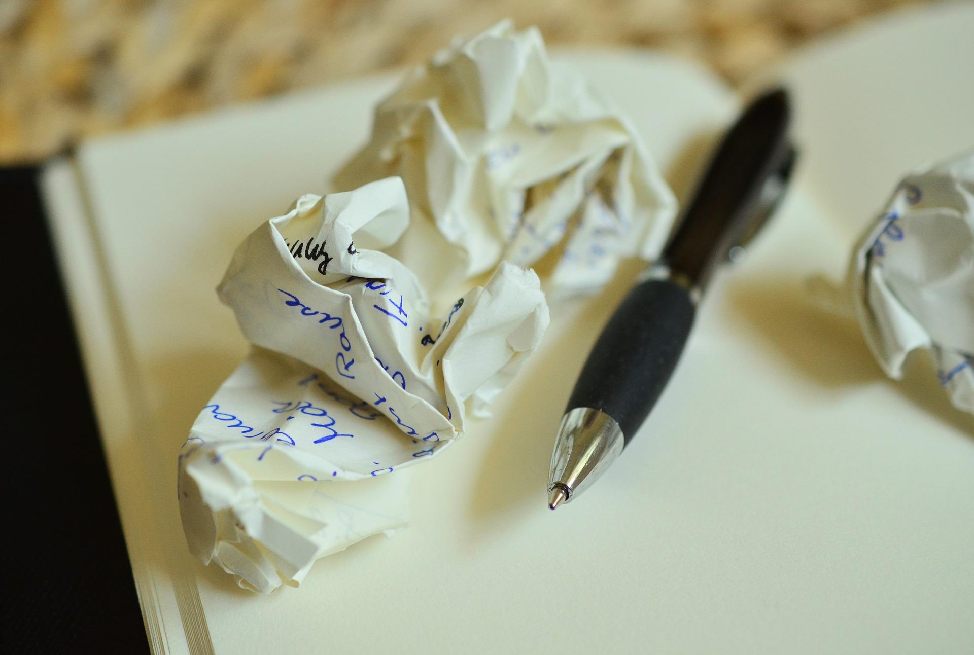 pen paper notes