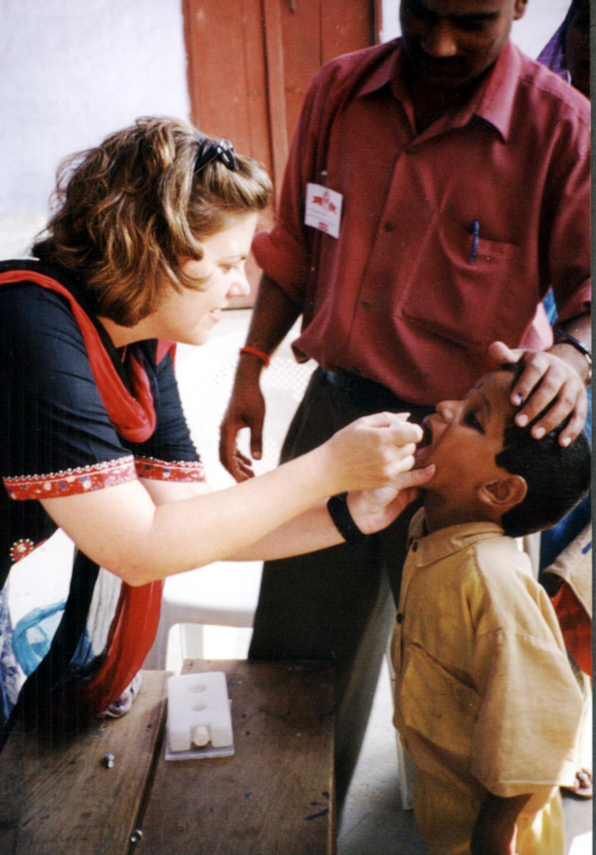 Vaccination-polio-india