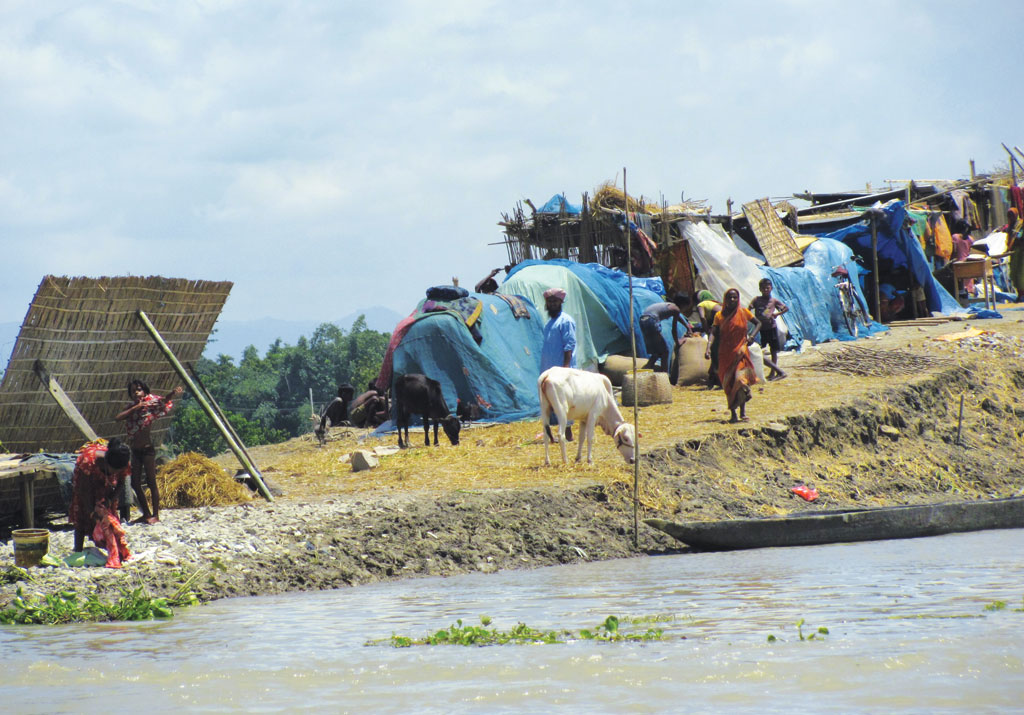 assam flood rehabilitation