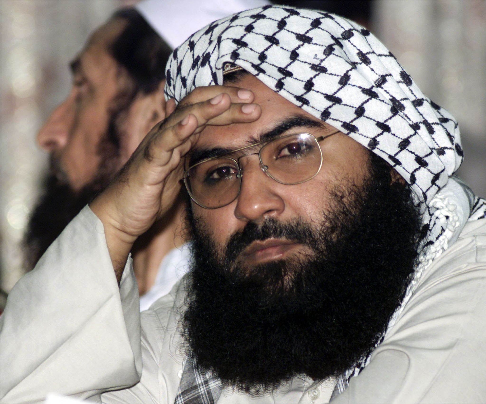 Maulana Masood Azhar, head of Jaish-e-Mohammed. Source: Mian Kursheed/Reuters