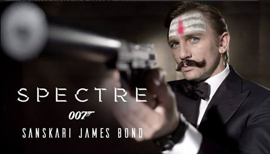 sanskari james bond