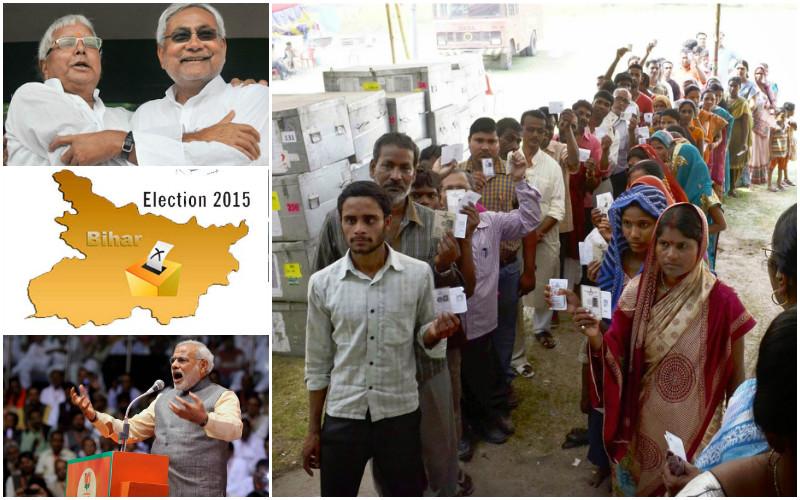 bihar exit poll election 2015