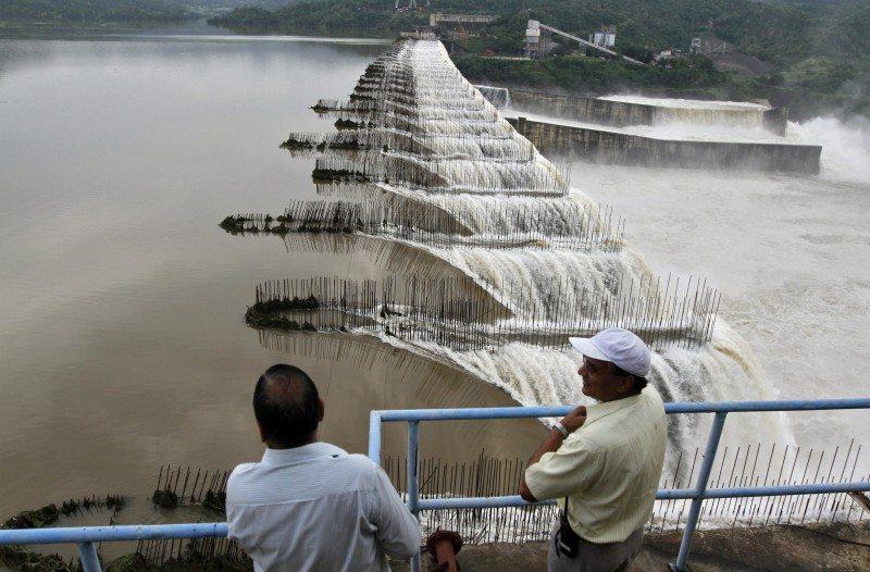 Sardar Sarovar Dam. REUTERS/Amit Dave