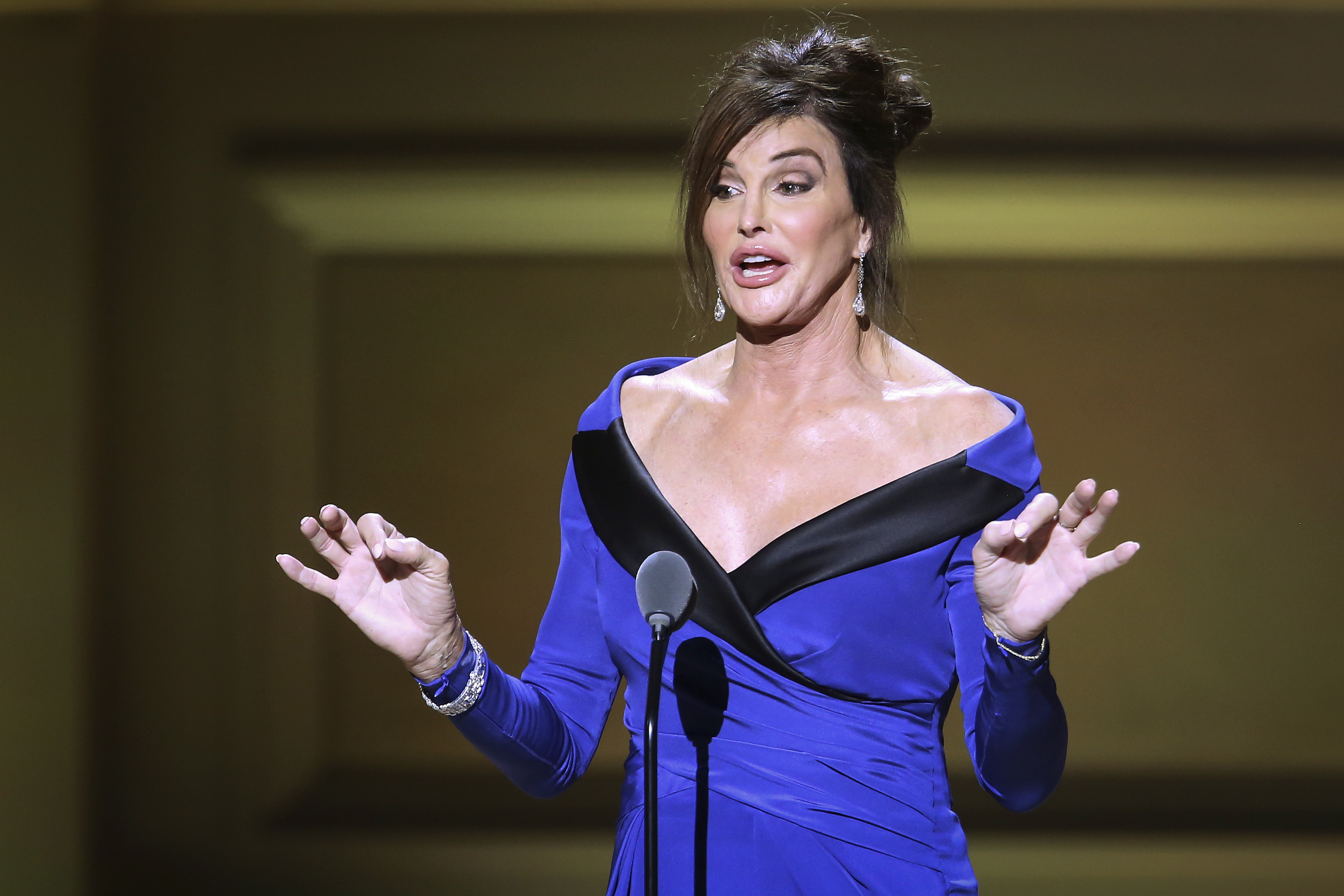 Former Olympian Caitlyn Jenner REUTERS/Carlo Allegri