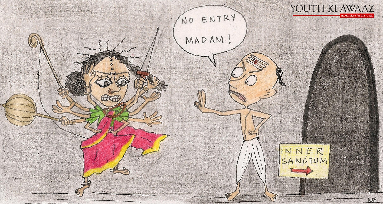 maitri dore temple entry ban women goddess