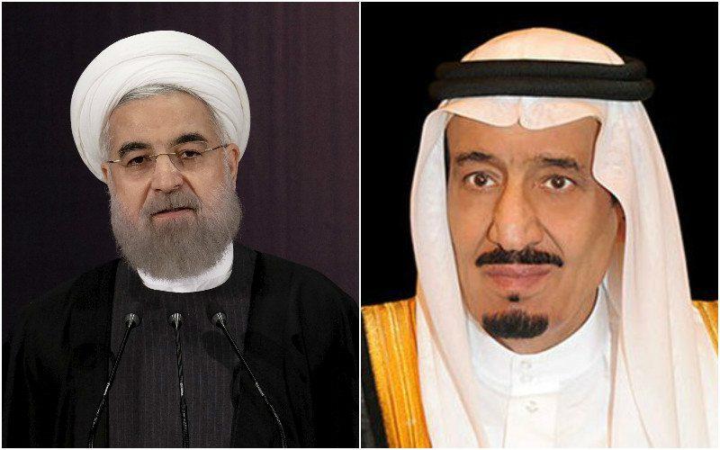 saudi arabia king salman iran president hassan rouhani