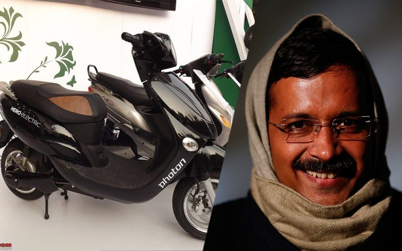 kejriwal electric scooter