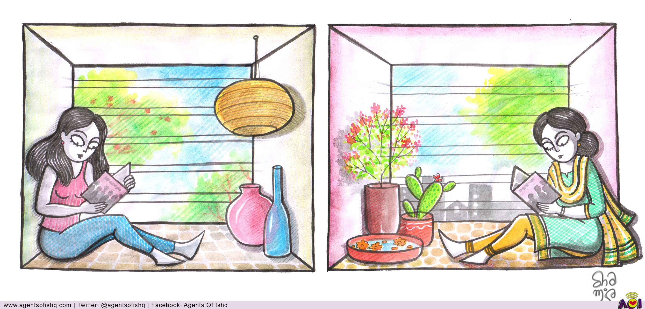 Illustration by Samidha Gunjal