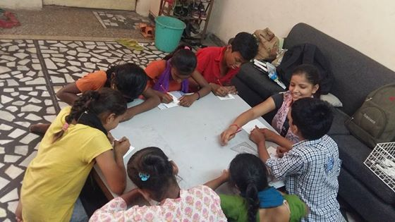 Teaching Underprivileged Students - Internship With NGO