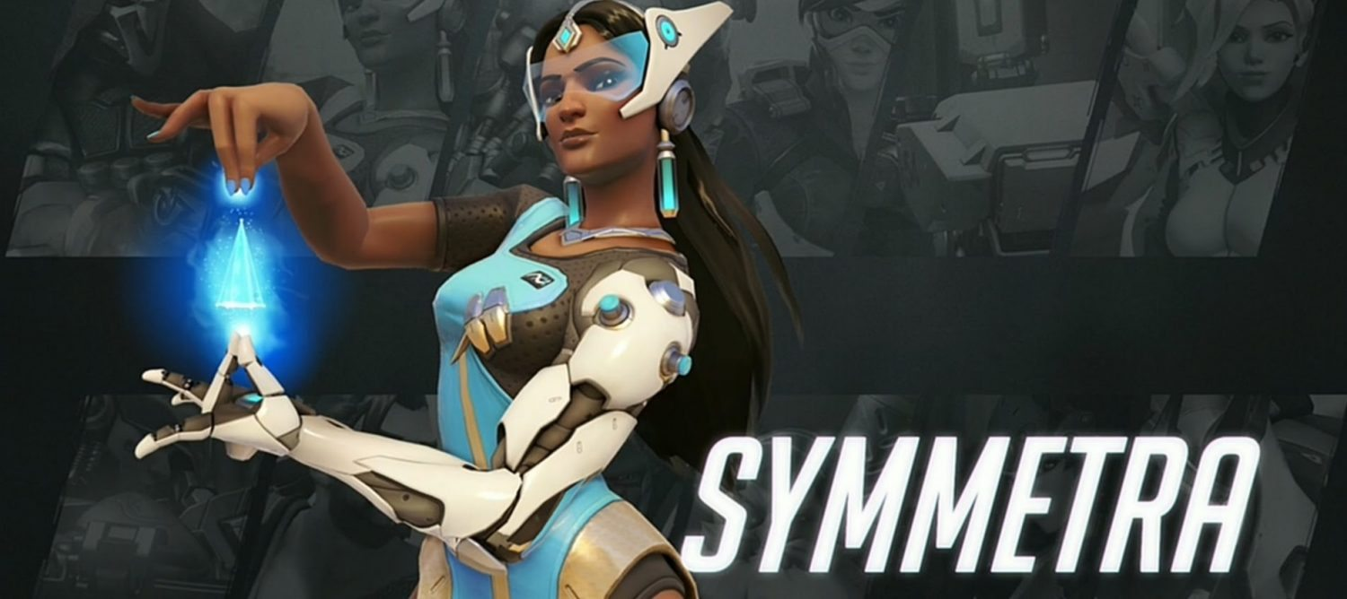 Symmetra - adding a little bit of Desi to Blizzard's latest shoot 'em up 'Overwatch'