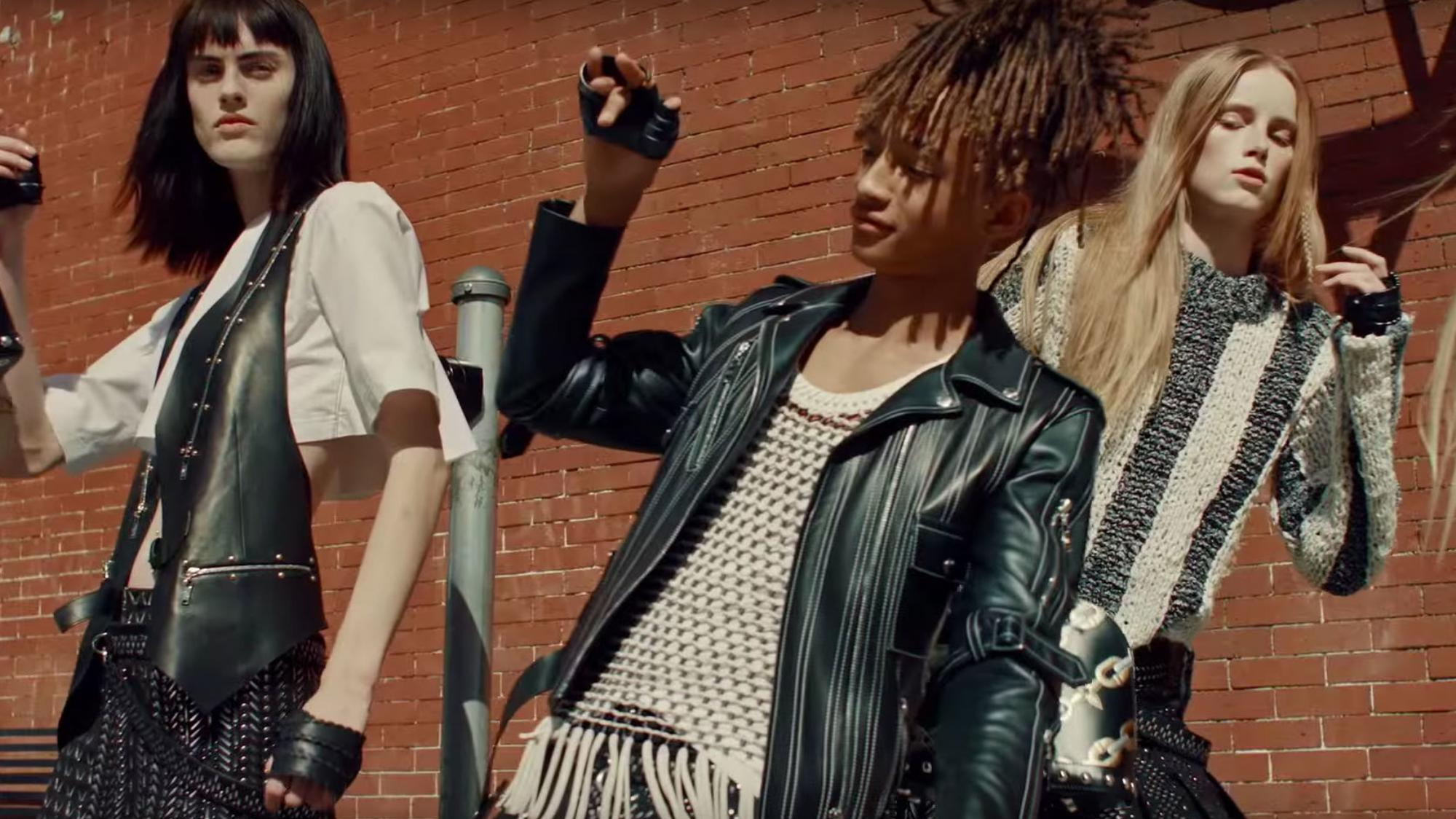 Jaden Smith In Louis Vuitton Ad