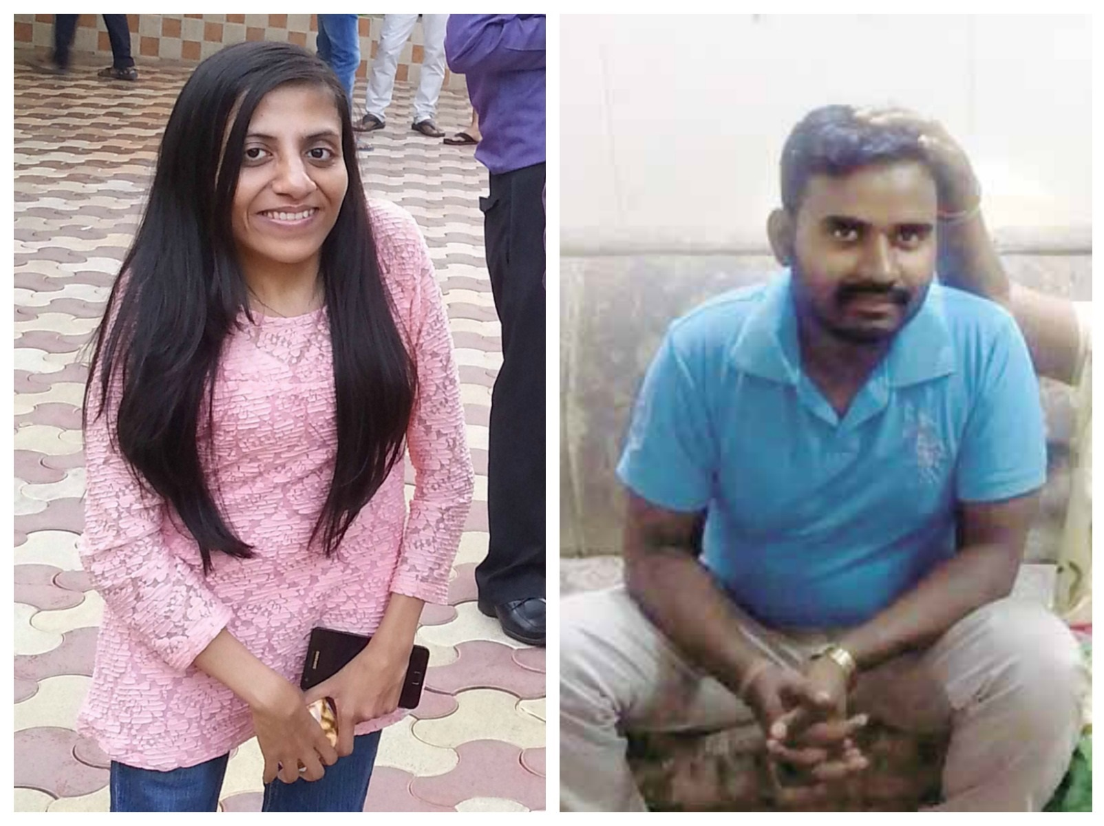 Ira Singhal (left), Sandeep Kumar (right)