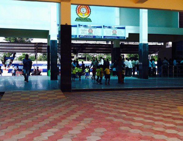 Lingampalli Railway Station in Hyderabad