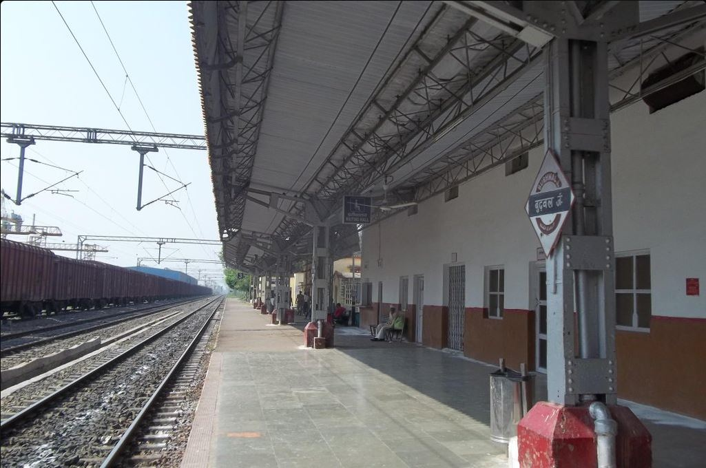 burhwal and gonda railway station