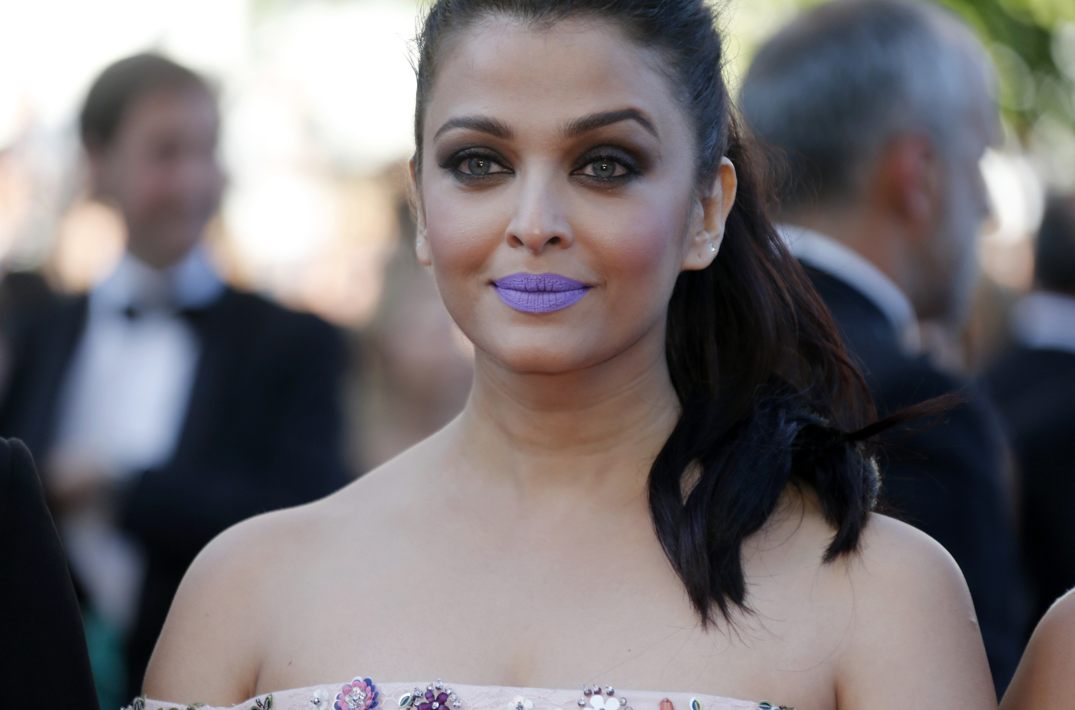 "Actress Aishwarya Rai arrives for the screening of the film ""Mal de pierres"" (From the Land of the Moon) in competition at the 69th Cannes Film Festival in Cannes"