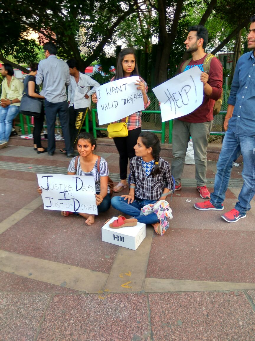 fddi student protest photo 5