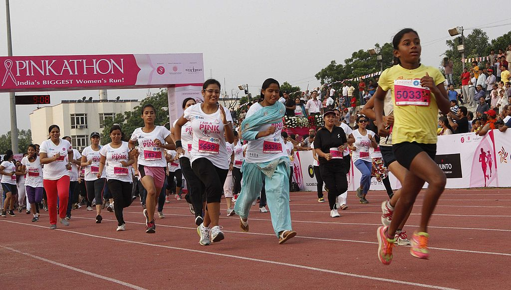 breast cancer pinkathon