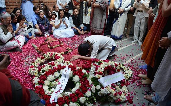mrinalini funeral