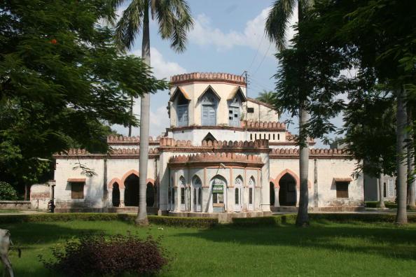 View of the Aligarh Muslim University Campus in Uttar Pradesh, India