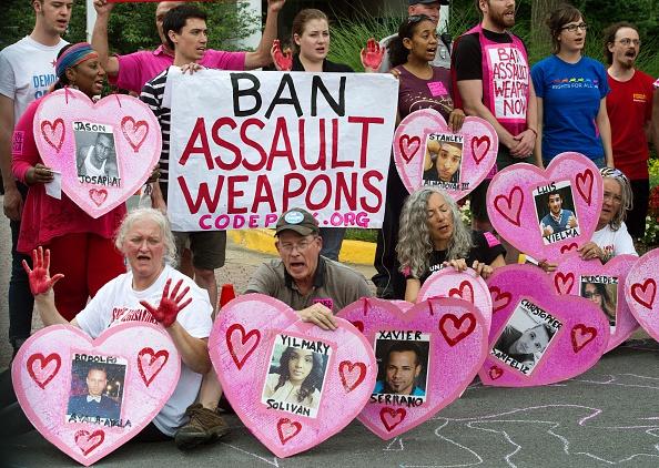 protest against guns