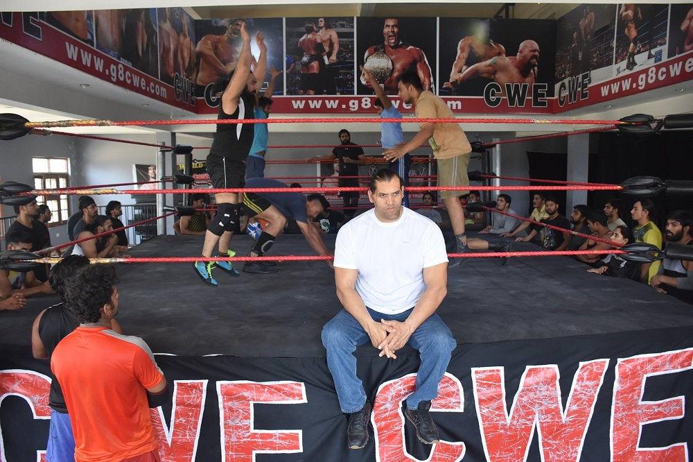 Khali in his academy (Credit - Continental Wrestling Entertainment)_resized