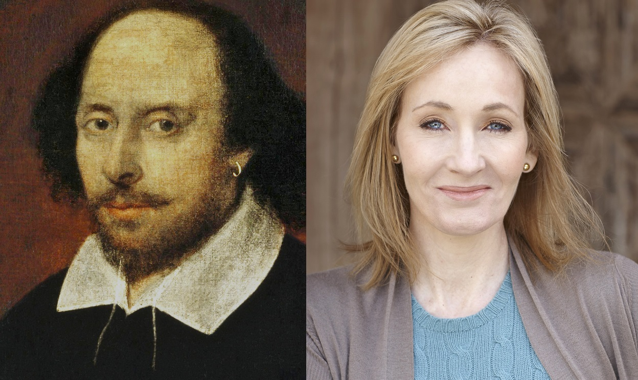 Shakespeare and JK Rowling