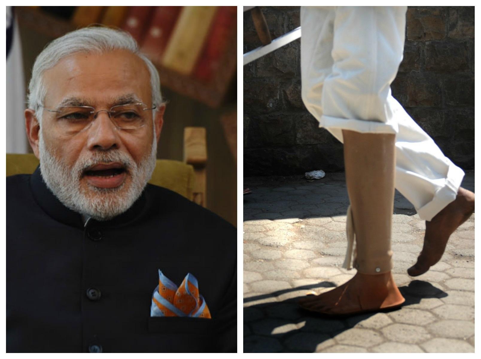 Modi on Divyang