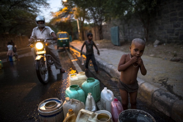 Searing Heat In Delhi Fuel Fears Of Water Crisis