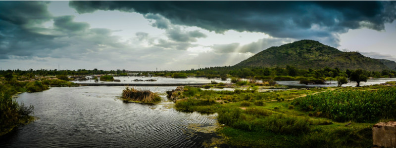 Banks of River Cauvery