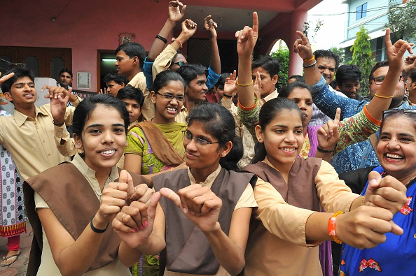 Deaf-Mute Kids Celebrate Home Coming Of Geeta At Indore