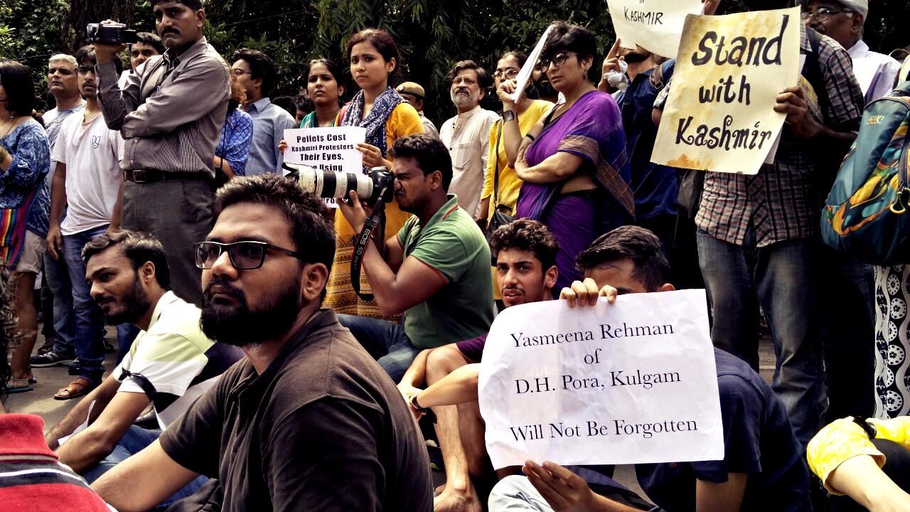 KashmirDelhiProtestJuly2016