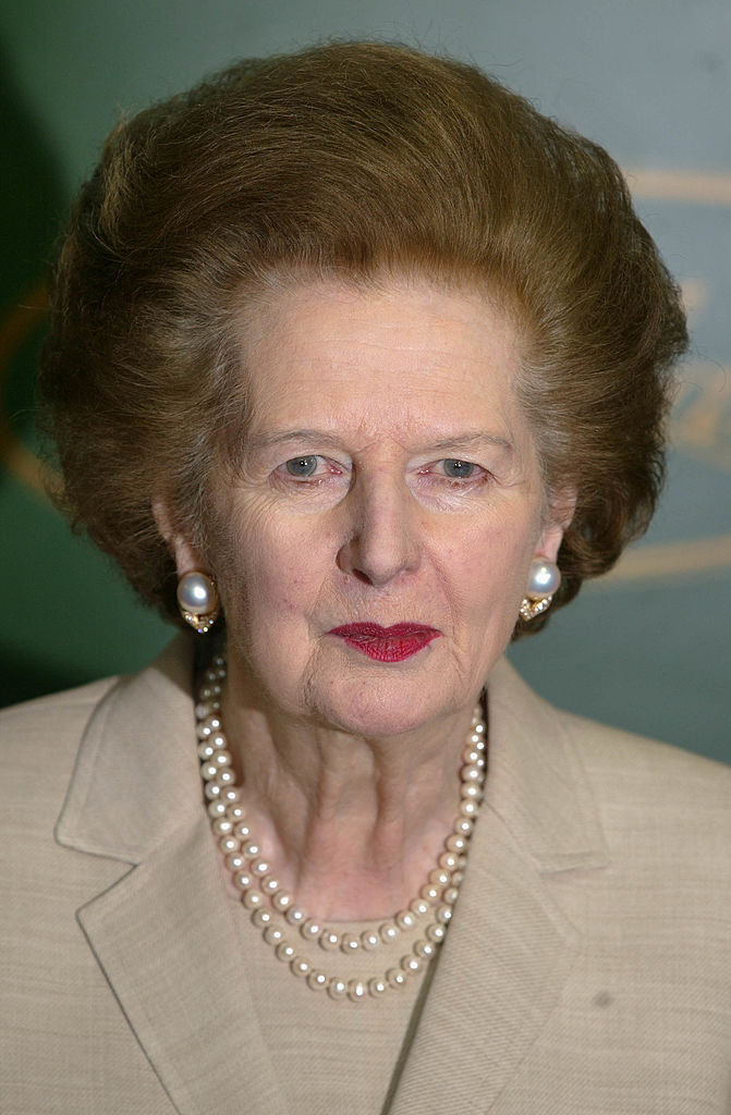 Former British PM, the late Margaret Thatcher. Source: Sion Touhig/Getty Images