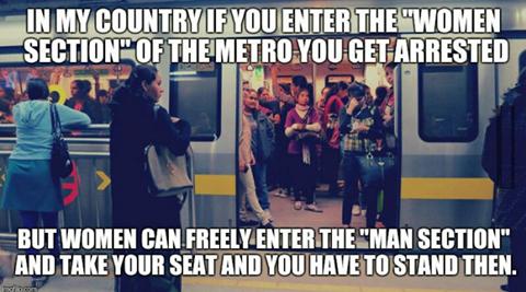 metro sexist meme