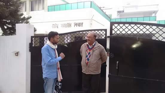किरणजीत सिंह के साथ शाह आलम