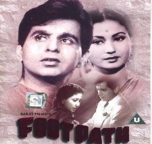 1953 Meena Kumari & Dilip Kumar stared film Footpath