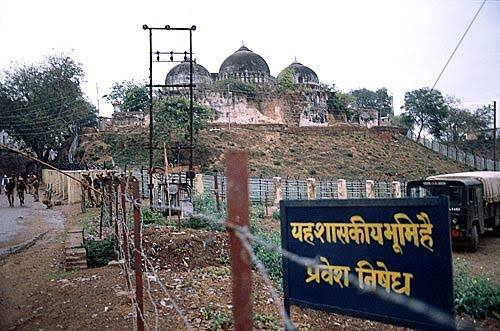 The disputed Babri Masjid is now property of the administration.