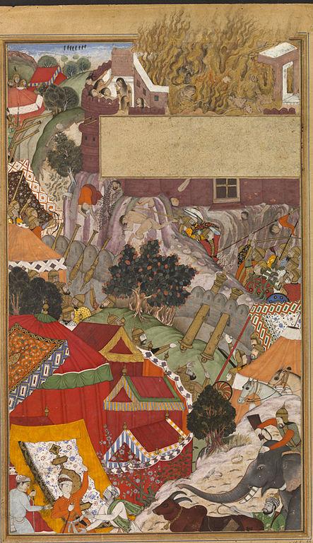 The burning of Rajput women.