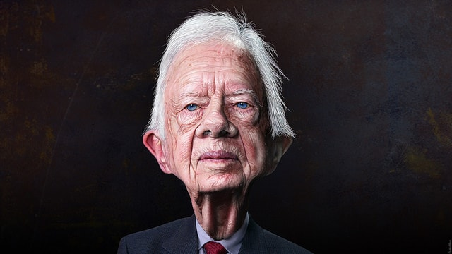 caricature of jimmy carter