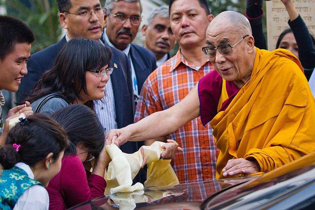 The Dalai Lama addresses Global Buddhist Congregation in Delhi