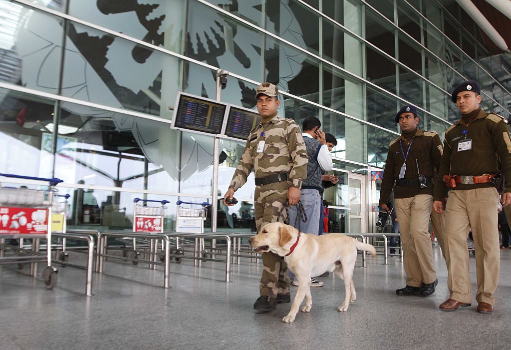 CISF security at IGI Aiport