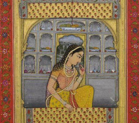 A painting of princess padmavati