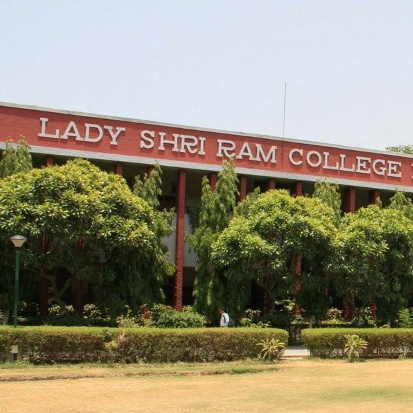 The facade of Lady Shri Ram College