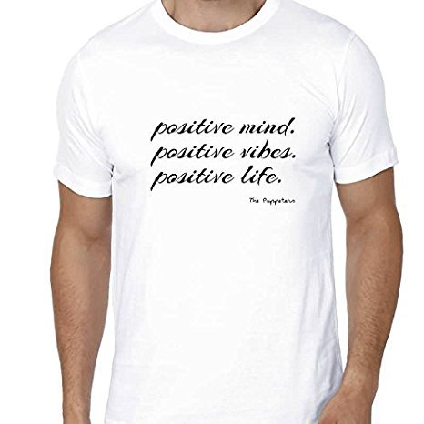 positive mind, positive vibes, positive life the puppeters tshirt company